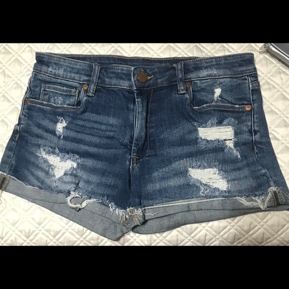 Blank NYC Pants - SOLD! Blank NYC Women's Destroyed Denim Shorts